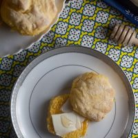 {Fat Free!} Golden Squash Biscuits