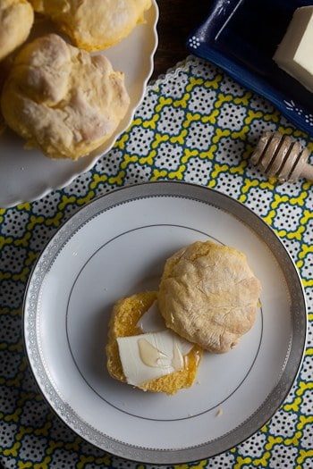 {Fat Free!} Golden Squash Biscuits 1