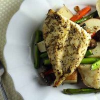 Easy Herb-Roasted Chicken & Vegetables
