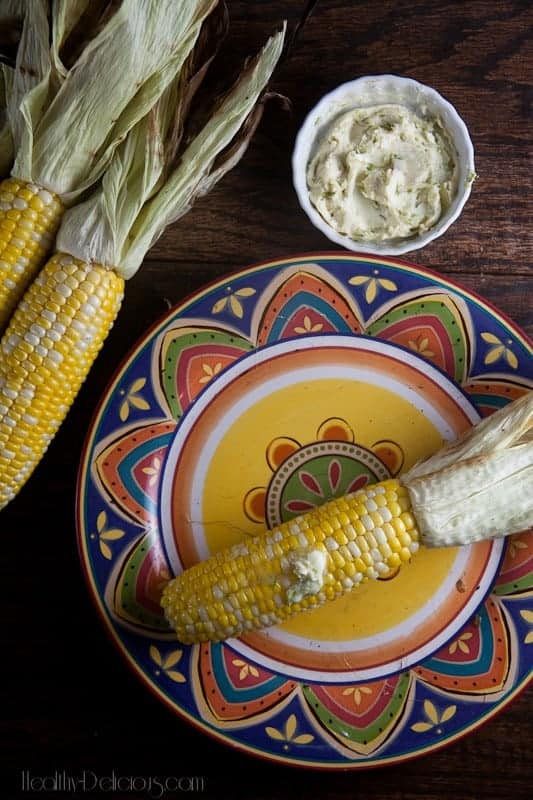 Grilled Corn with Lime-Cayenne Butter 2
