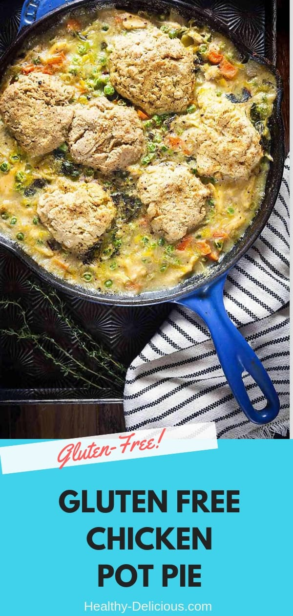 Chicken Pot Pie with Biscuit Topping (Gluten-Free Option) 2