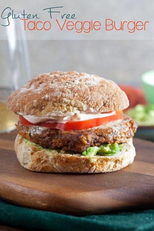 Taco Veggie Burgers {Gluten Free} 1