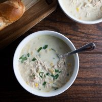 {SRC} Chicken + Corn Chowder