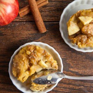 Mini Apple Cinnamon French Toast Casseroles