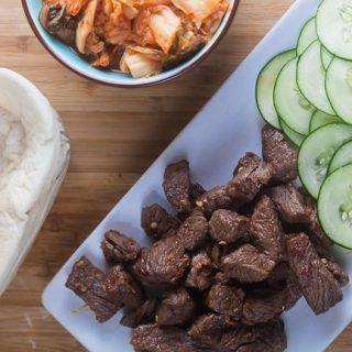 Spicy Korean Tacos