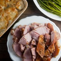 Apricot-Mustard Baked Ham