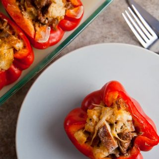 Peppers Stuffed with Everything Good {#PepperParty} 1