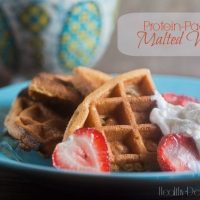 Protein-Packed Malted Waffles