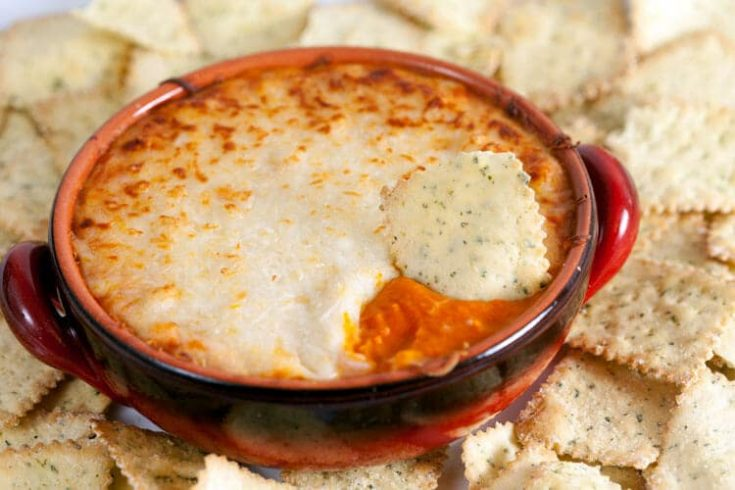 Roasted Red Pepper and White Bean Dip 1