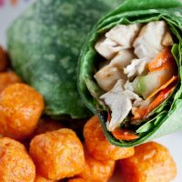 Ginger Sesame Chicken Wrap ...For One