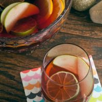Spiced Cranberry Sangria Rum Glazed Carrots