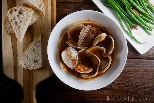 Spicy Spanish Clams 1