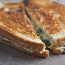 Spinach and Artichoke Grilled Cheese 23