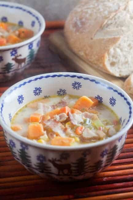 Jamaican Sweet Potato Chowder 1