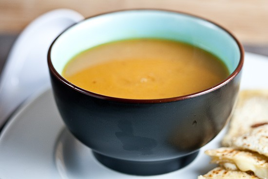 Creamy Sweet Potato and Chipotle Soup 4