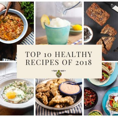Best healthy recipes of 2018