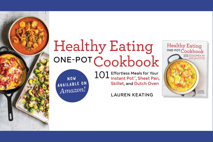 Announcing My Healthy Eating One-Pot Cookbook 3