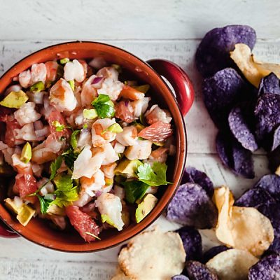 Shrimp and Grapefruit Ceviche