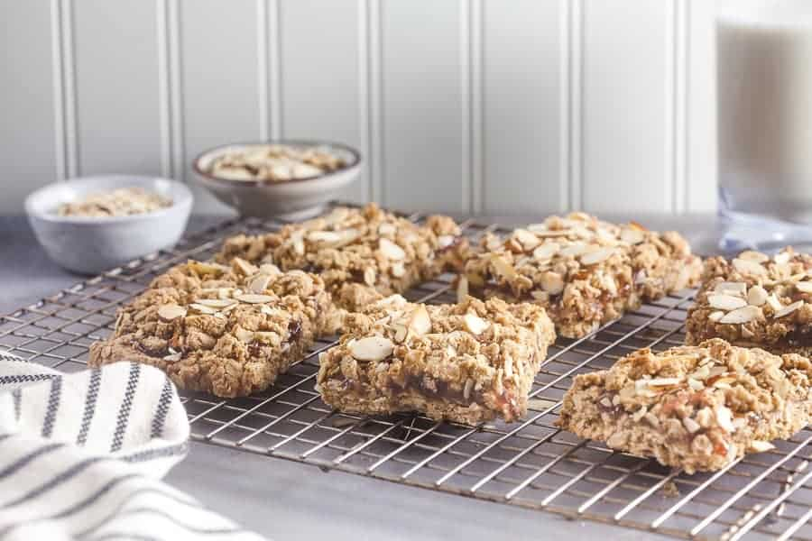 Cranberry Oats Bars