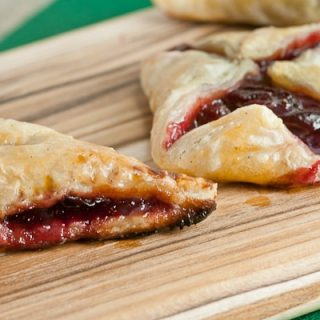 Mini Cherry-Almond Turnovers