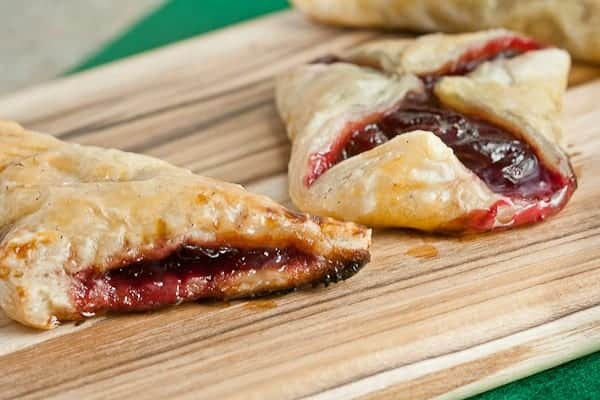 Mini Cherry-Almond Turnovers 5