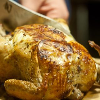 Perfect Roast Chicken with Lemon & Za'atar