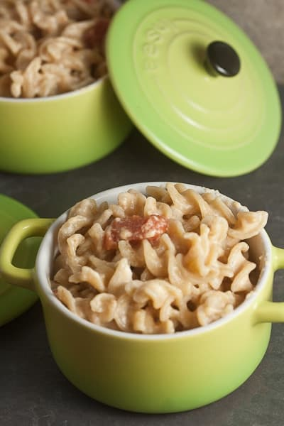 Stovetop Mac & Cheese with Stewed Tomato 4