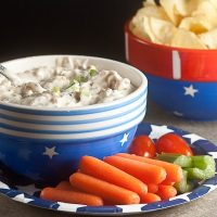 Triple Onion Dip