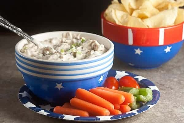Triple Onion Dip 3