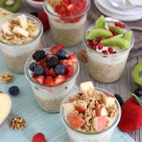 Healthy and Delicious Overnight Oats