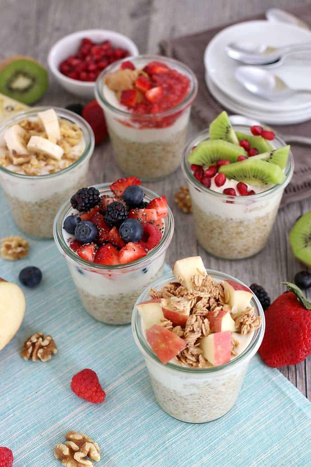 How to make five overnight oats recipes