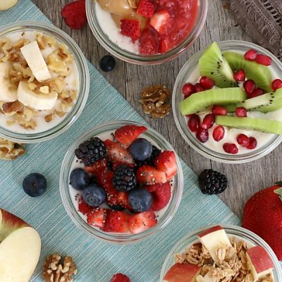 5 Healthy and Delicious Overnight Oats Ideas (Gluten-Free and Dairy-Free Options)