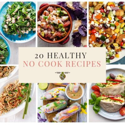 20 No-Cook Meals to Make This Summer