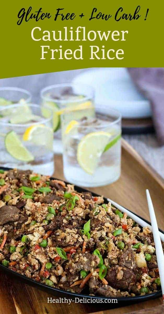 Cauliflower Fried Rice (Gluten Free, Low Carb, Paleo) 1
