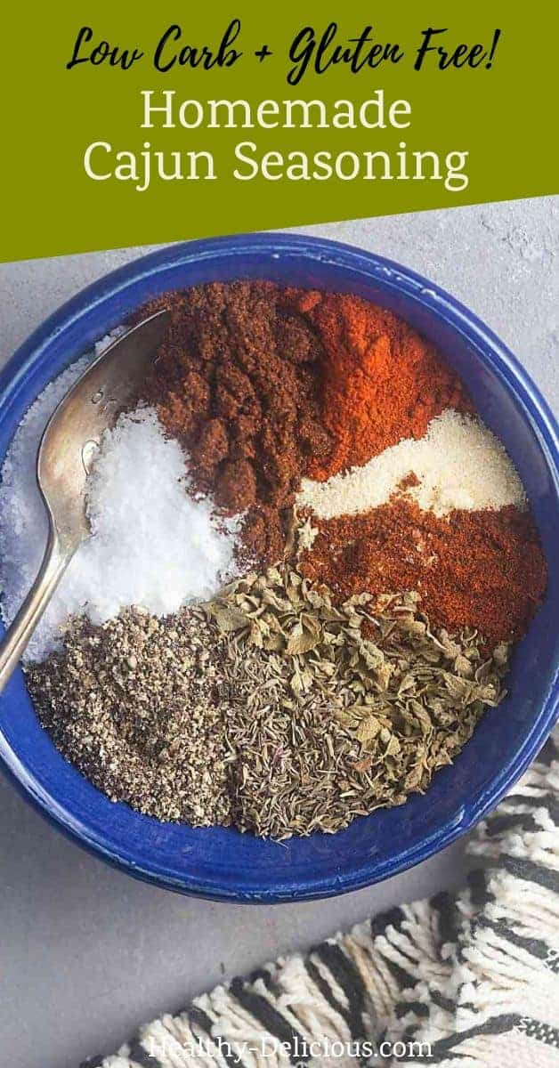 Homemade Cajun Seasoning (Low Carb, Gluten Free, + Paleo) 1