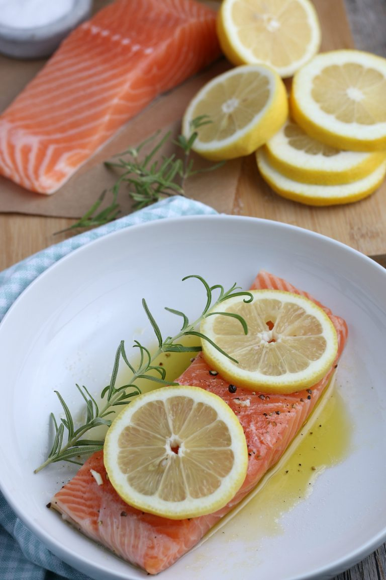 Perfect Air Fryer Salmon (Low Carb, Gluten Free, Whole 30) 1