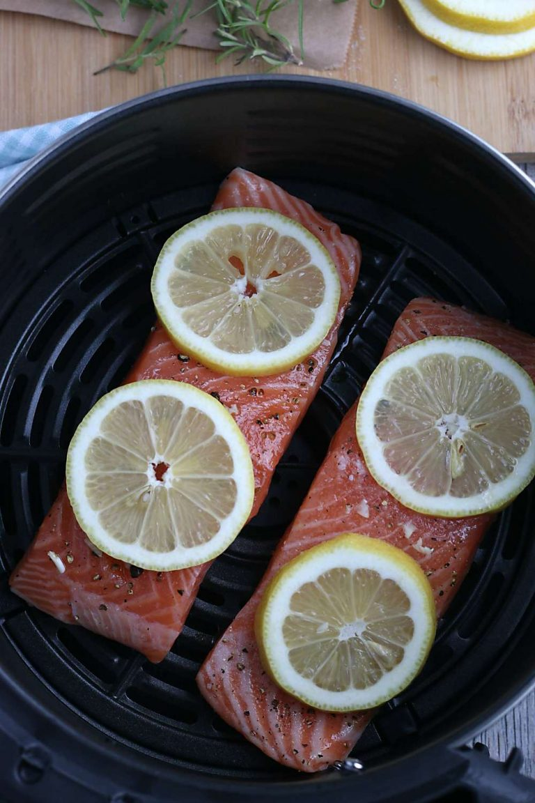 Perfect Air Fryer Salmon (Low Carb, Gluten Free, Whole 30) 2