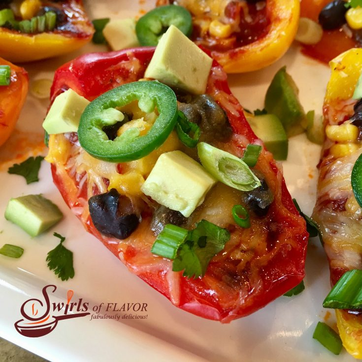Nacho Stuffed Peppers