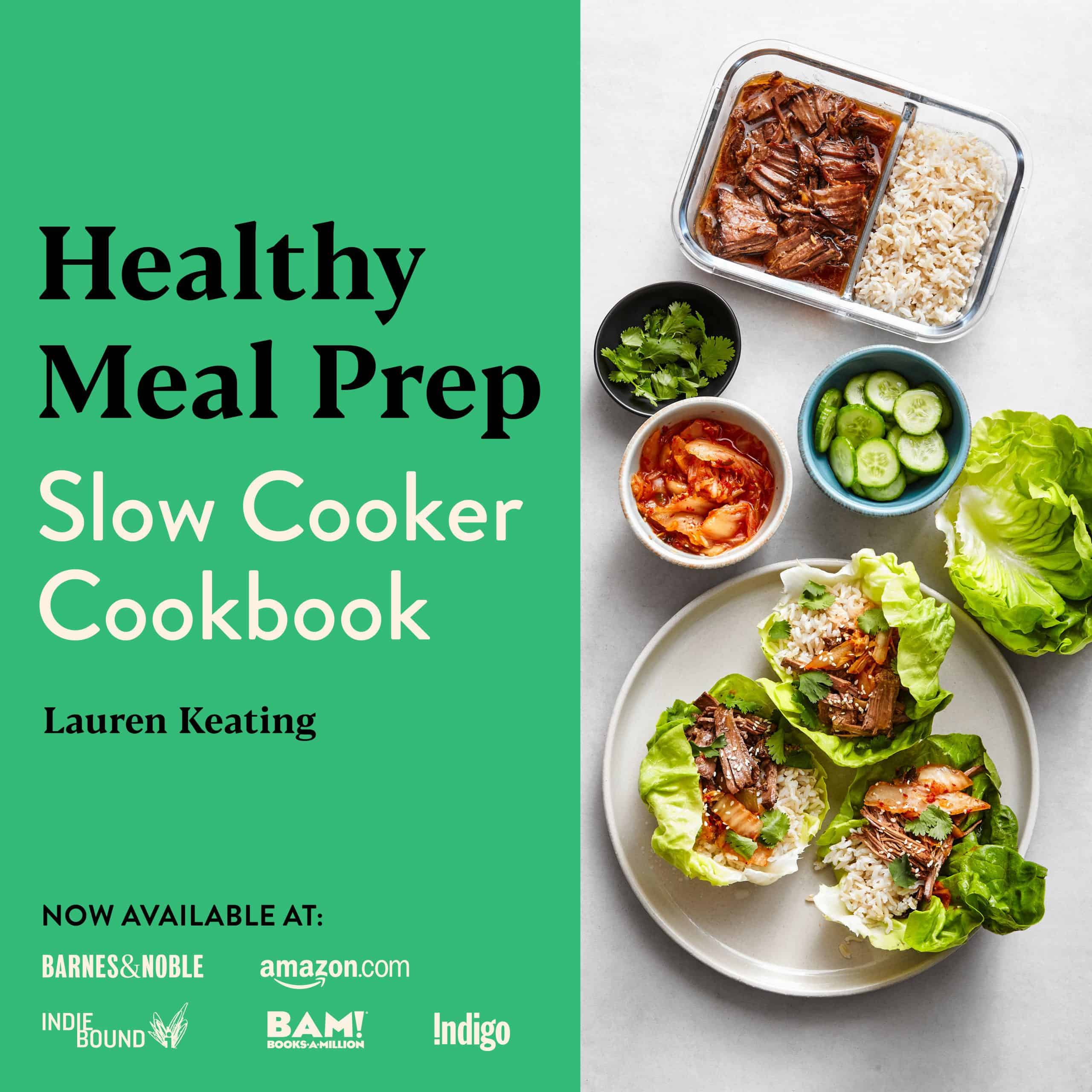 Healthy Meal Prep Slow Cooker Cookbook