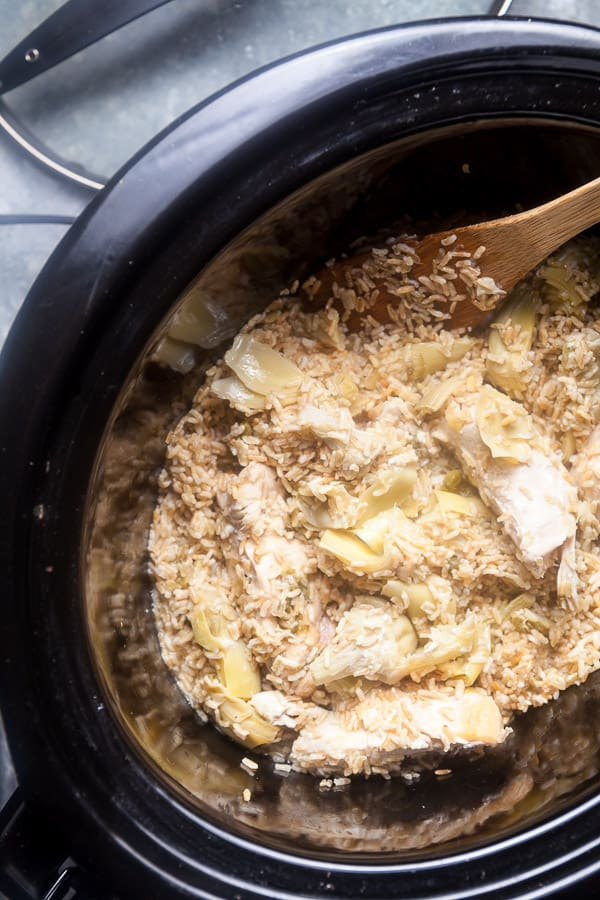 Slow Cooker Lemon Chicken 4