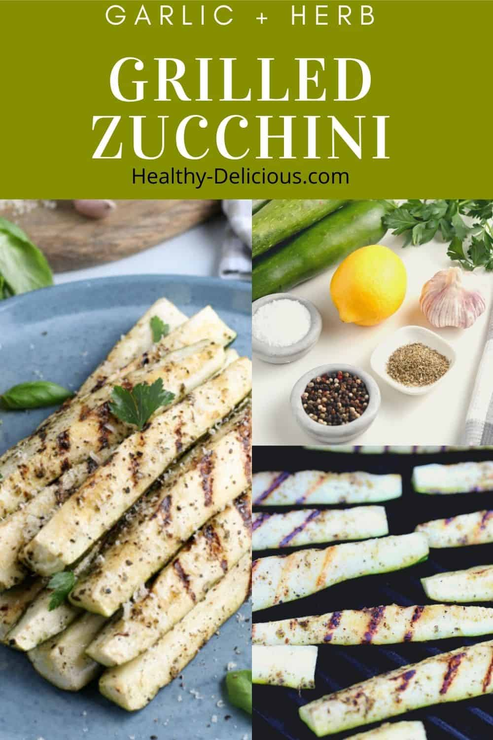 Zucchini makes an appearance on our table at least once a week this time of year. I love the texture that grilled zucchini has and its neutral flavor means it goes well with everything from chicken to burgers. This is my favorite recipe - plus tips for success! #grilling #vegetables #zucchini #lowcarb #keto via @HealthyDelish