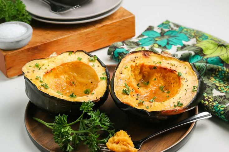 How to Roast Acorn Squash 2