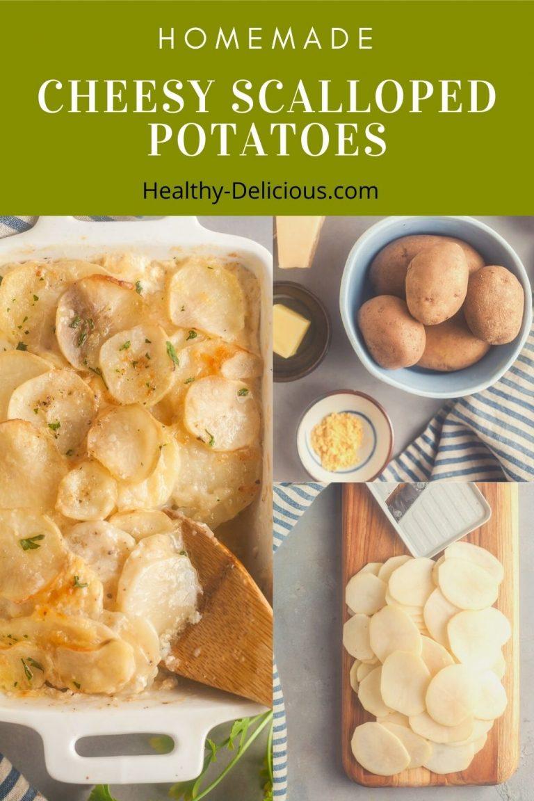 Cheesy Baked Scalloped Potatoes 2