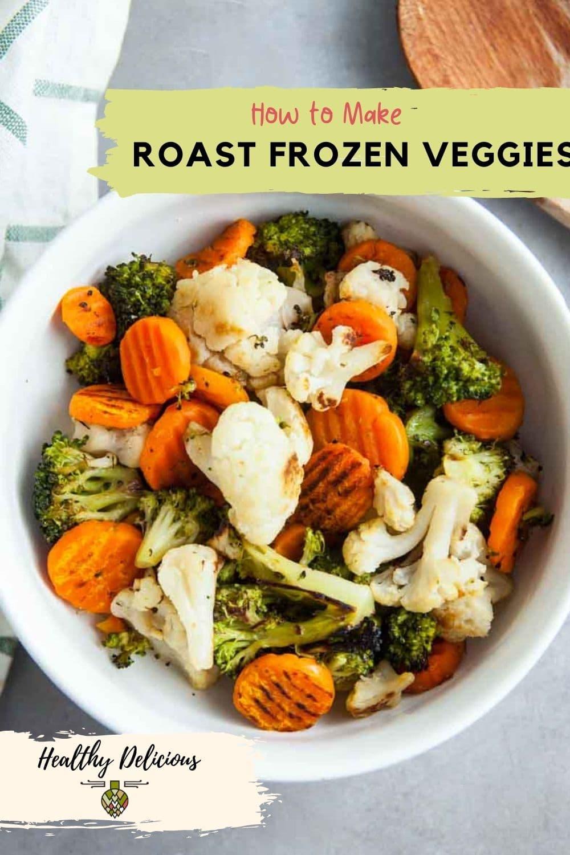 How to Roast Frozen Vegetables via @HealthyDelish