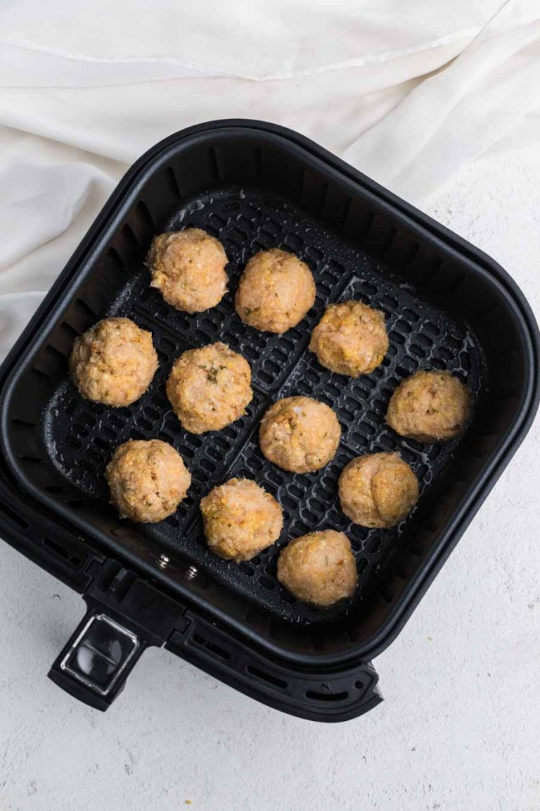 Air Fryer Chicken Meatballs 1