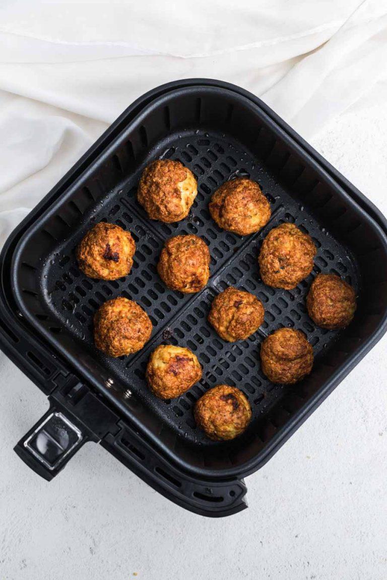 Air Fryer Chicken Meatballs 2