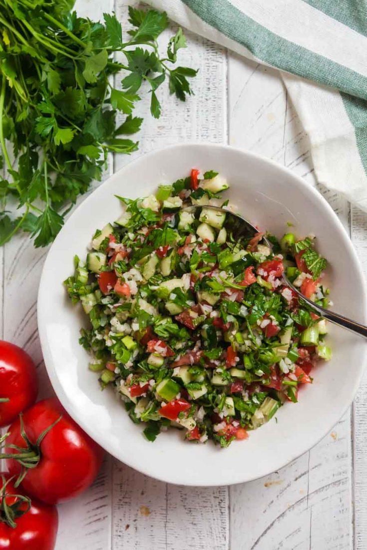 Cauliflower Tabbouleh Salad 1