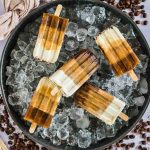 Low Carb Coffee Popsicles 4