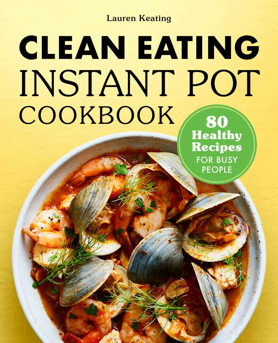 Clean Eating Instant Pot Cookbook cover image