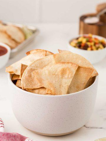 How to Make Air Fryer Tortilla Chips 23
